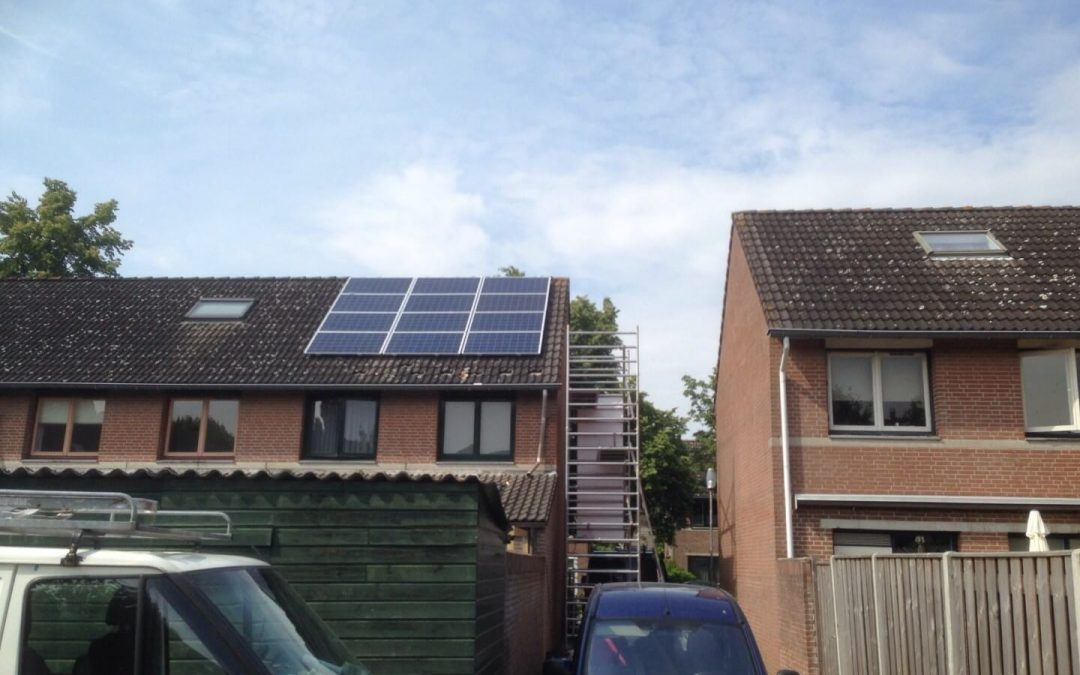 12 Zonnepanelen in Breda
